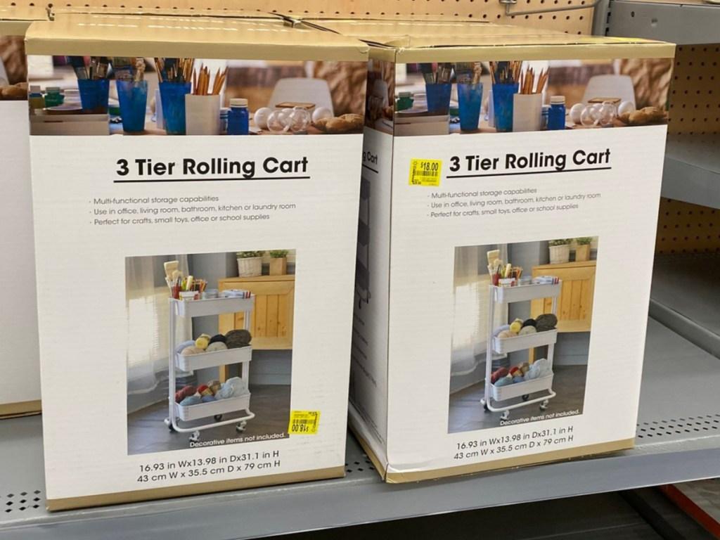 Walmart 3 tier rolling cart