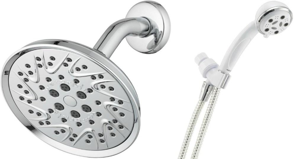 Waterpik and Delta Shower Heads