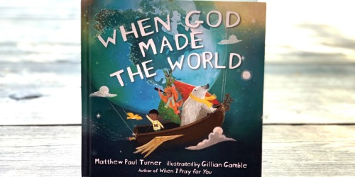 Pre-Order When God Made the World at Target & Get FREE Books