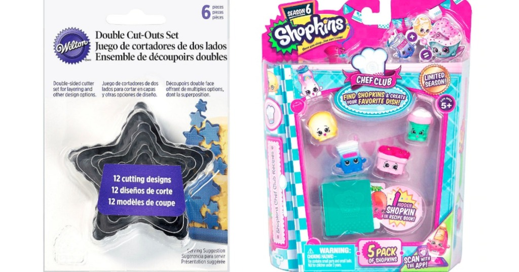 Wilton Cookie Cutters and Shopkins