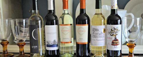 Wine Insider Wine Bottles on counter