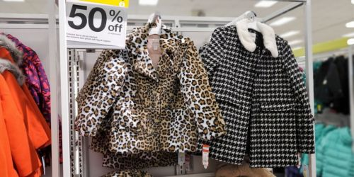 Up to 60% Off Toddler and Kids Winter Jackets & Coats at Target