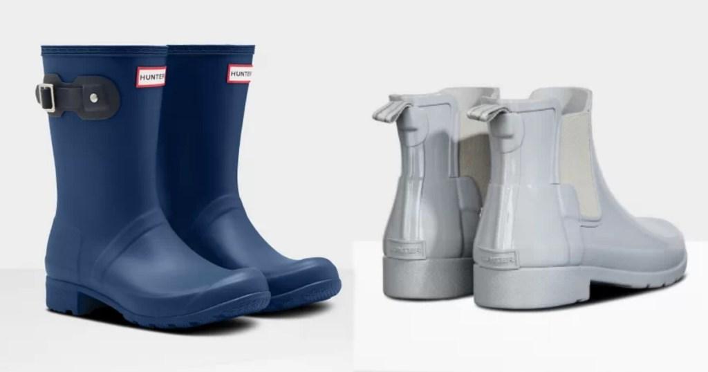 Women's Short Hunter Rain Boots