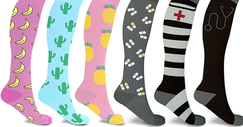 XTF CompressionSocks in a variety of patterns