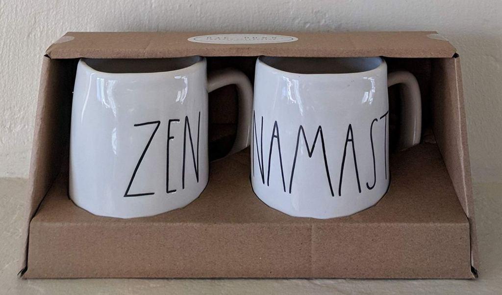 Zen Namaste Mugs