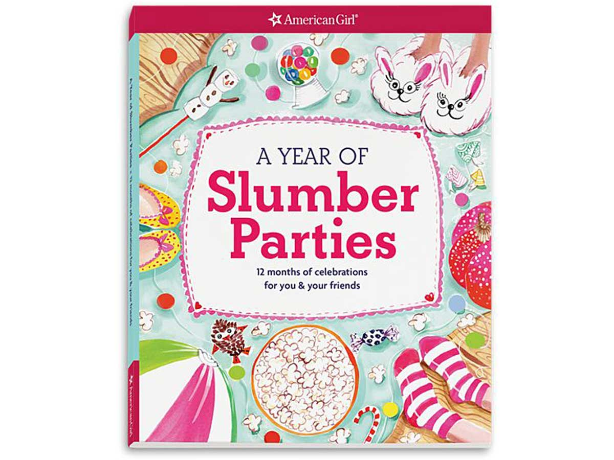 A Year of Slumber Parties Book