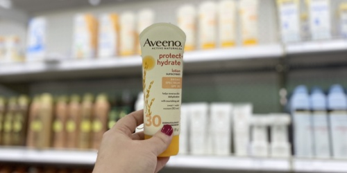 $16 Worth of New Aveeno Coupons = Up to 60% Off Lotion After Target Gift Card