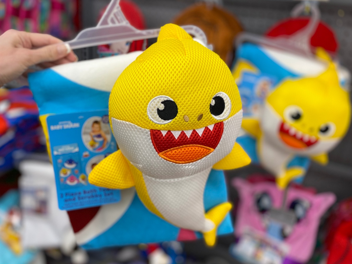 Baby Shark scrubby at Walmart