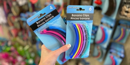 Banana Clips are Back! Grab SIX for Just $1 at Dollar Tree