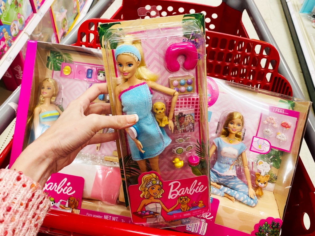 Spa day Barbie at Target