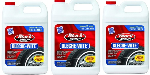 Black Magic Bleche-Wite Tire Cleaner 1-Gallon Only $5.89 Shipped on Amazon (Regularly $16)