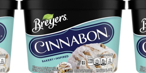 Breyers is Partnering With Cinnabon to Release a New Bakery-Inspired Flavor
