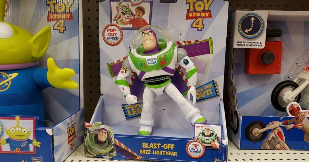 Disney toy on store shelf