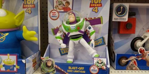 Disney Pixar Toy Story Blast-Off Buzz Lightyear Just $10.39 (Regularly $20)