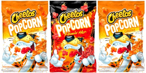 New CHEETOS Cheddar and Flamin' Hot Popcorn Are Coming to a Snack Aisle Near You!