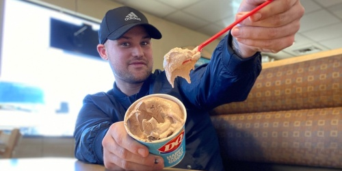 Dairy Queen's Double Fudge Cookie Dough Blizzard Is Love at First Bite