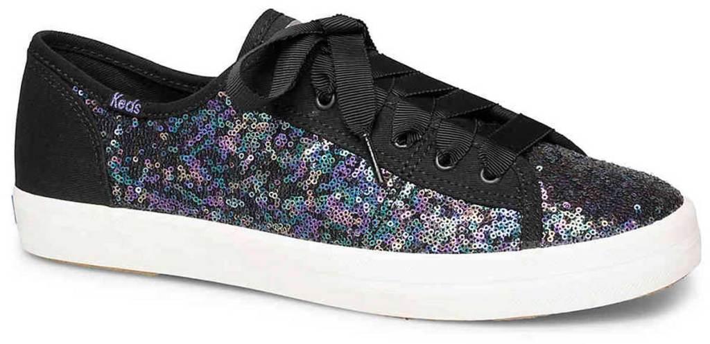 stock image of Keds Women's Kickstart Mini Sequin Shoes