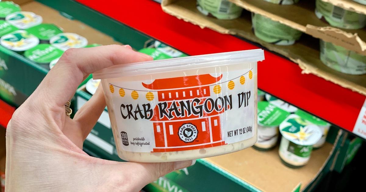 Crab rangoon dip at ALDI