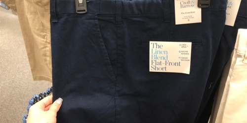 Croft & Barrow or Urban Pipeline Men's Shorts as Low as $5 Shipped for Kohl's Cardholders