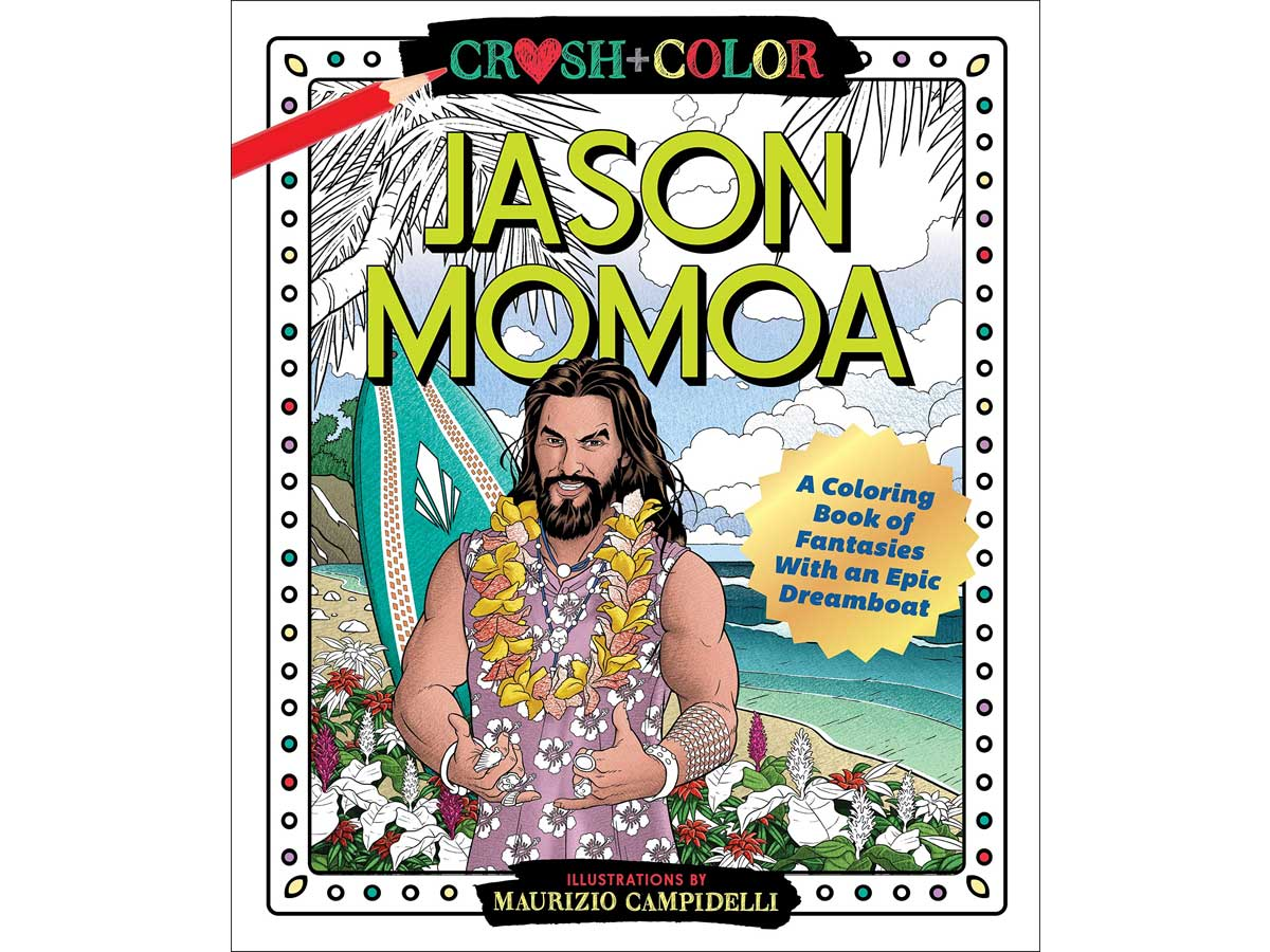 Jason Momoa Coloring Book Only $9.79 On Amazon Or Target