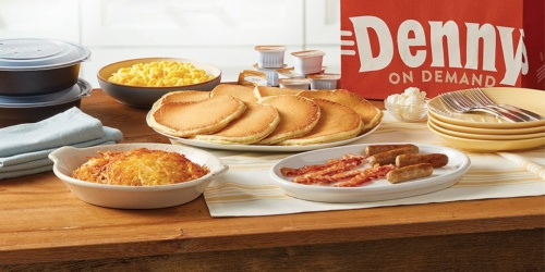 Denny's Sharable Family Packs as Low as $19.99 | Grand Slam Pack, Cheeseburger Pack & More