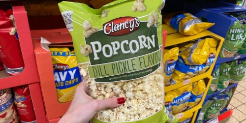 Pucker Up! ALDI Is Selling Dill Pickle Flavor Popcorn for a Limited Time