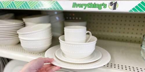 Ceramic & Glass Dinnerware Only $1 at Dollar Tree