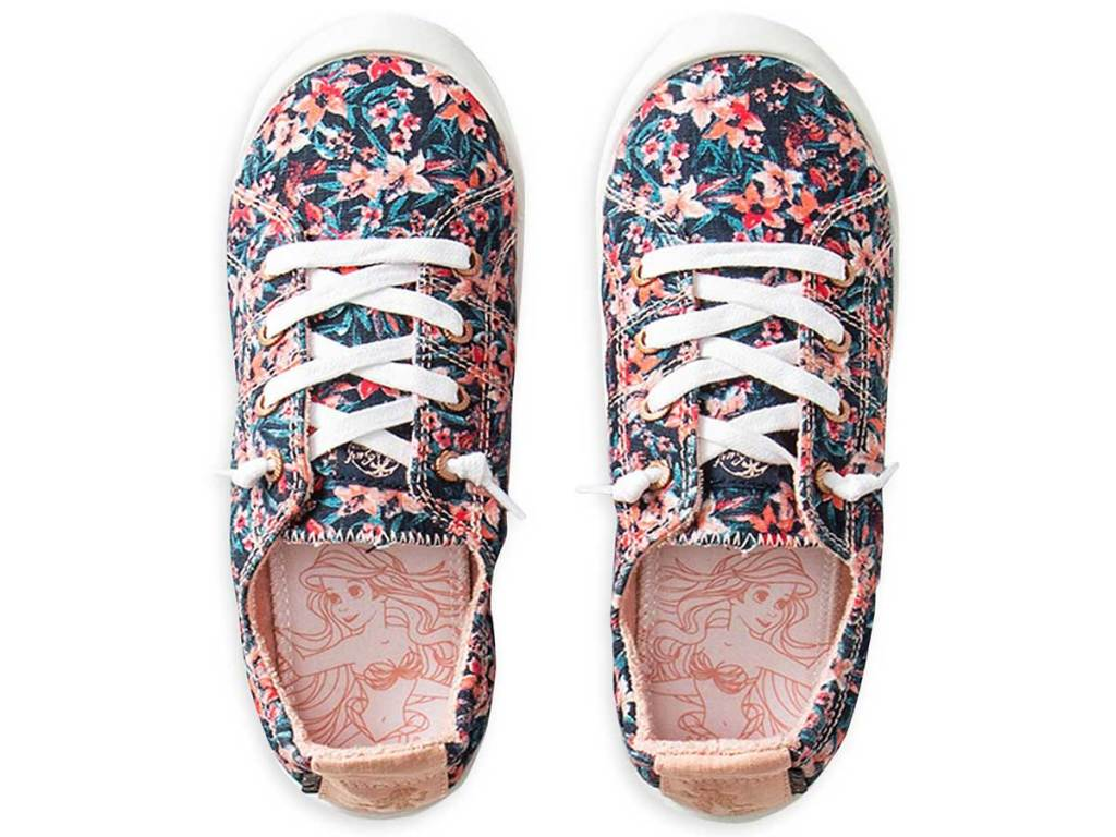 The Little Mermaid Canvas Shoes for Girls by ROXY Girl