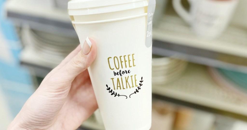 Dollar General Reusable Coffee Mugs