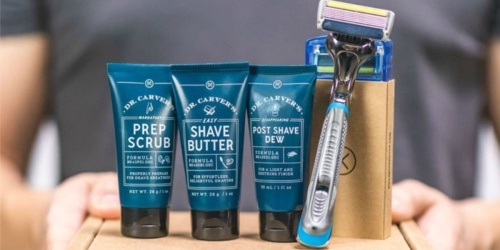 Dollar Shave Club Kit w/ Razor, Refills, & Shave Butter Only $5 Shipped | Great Stocking Stuffer Idea!