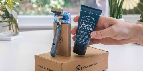Dollar Shave Club Starter Kit Only $5 Shipped
