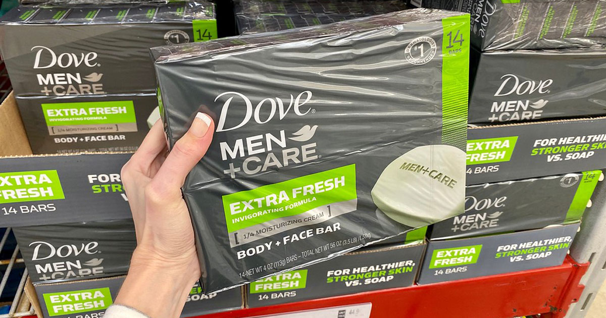 Dove Men + Care soap bars multipacks