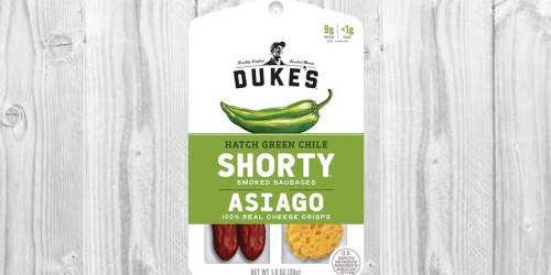 Duke's Sausage & Cheese Snacks 12-Count Only $6 Shipped on Amazon