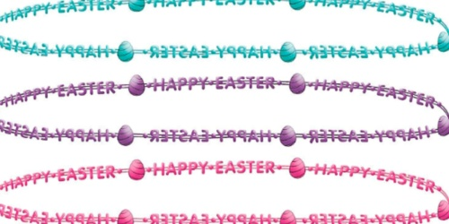 Happy Easter Bead Necklaces 3-Pack Only 99¢ Shipped & More