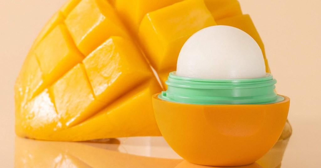 eos lip blam next toa mango