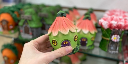 Create an Inexpensive Fairy Garden With These New Items from Dollar Tree
