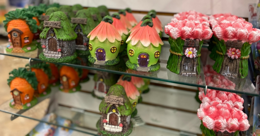 Create An Inexpensive Fairy Garden With New Items From Dollar Tree