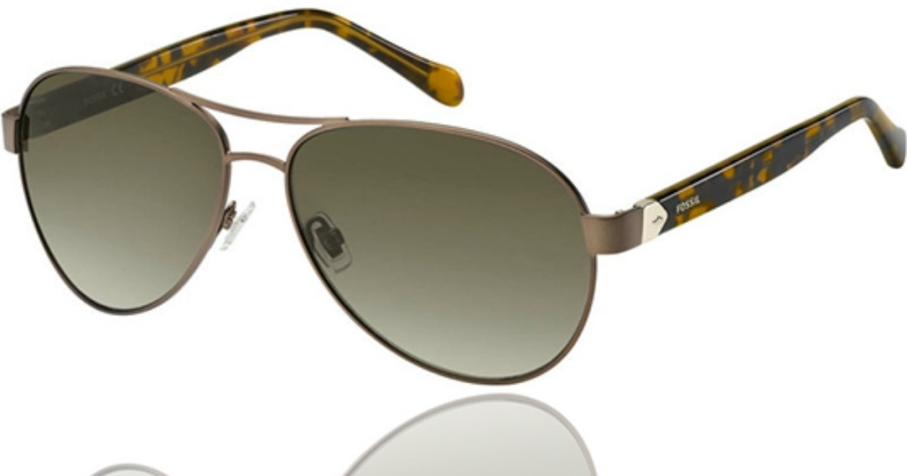 pair of sunglasses with gradient lenses