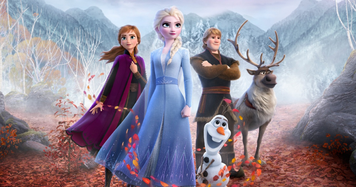 animated cast of Frozen 2