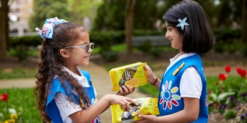 NEW Girl Scout Adventurefuls Cookies Are Coming in 2022 to Satisfy Your Caramel Brownie Cravings