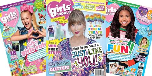 Girls' World Magazine 1-Year Subscription Just $14.99 | Only $2.50 Per Issue