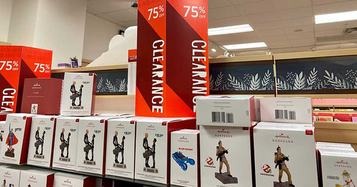 2020 Hallmart Christmas Ornaments 75% Off Hallmark Ornaments, T Shirts + More   In Store & Online