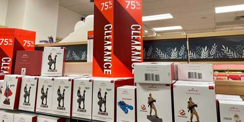 75% Off Hallmark Ornaments, T-Shirts + More | In-Store & Online