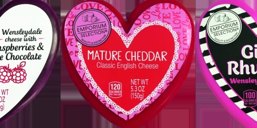 ALDI Is Releasing a Heart-Shaped Cheese Assortment for Valentine's Day