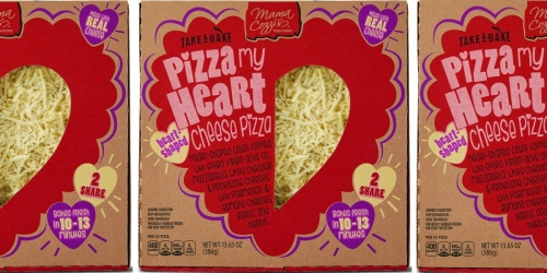 Forget Valentine's Day Dinner Reservations – This Heart-Shaped Pizza Is Only $5 at ALDI!