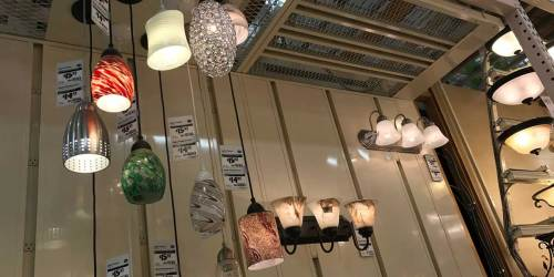 Up to 80% Off Lighting Clearance at Home Depot | Chandeliers, Pendant, Wall Mounts & More