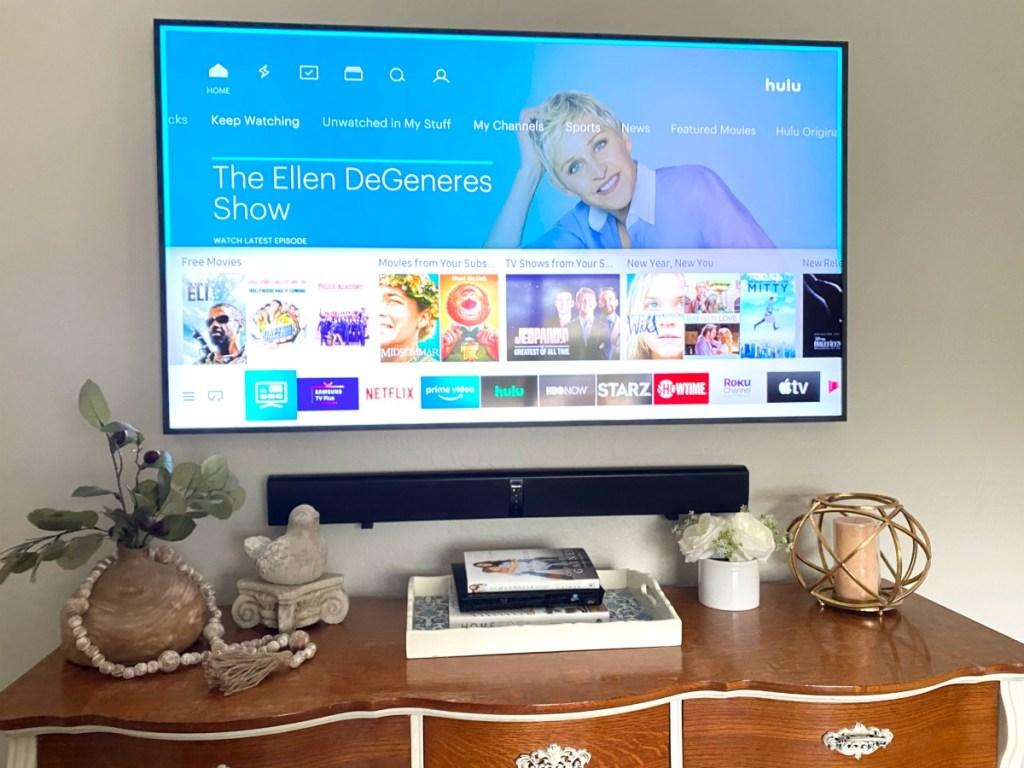 hulu on a samsung frame TV