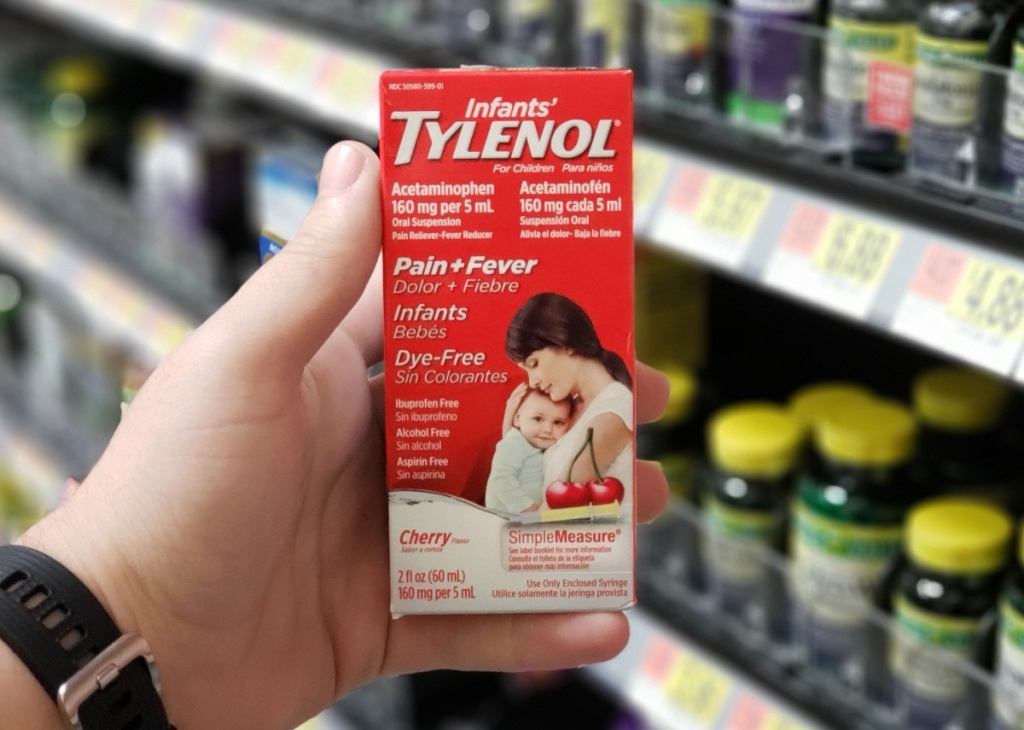 Infants' Tylenol at Walmart