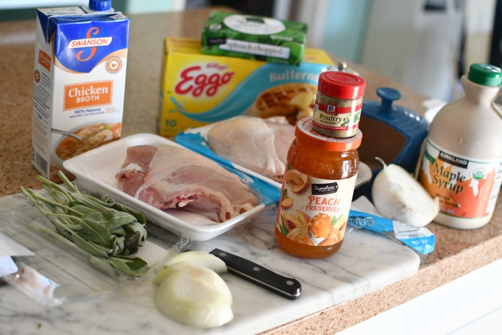ingredients for million dollar chicken