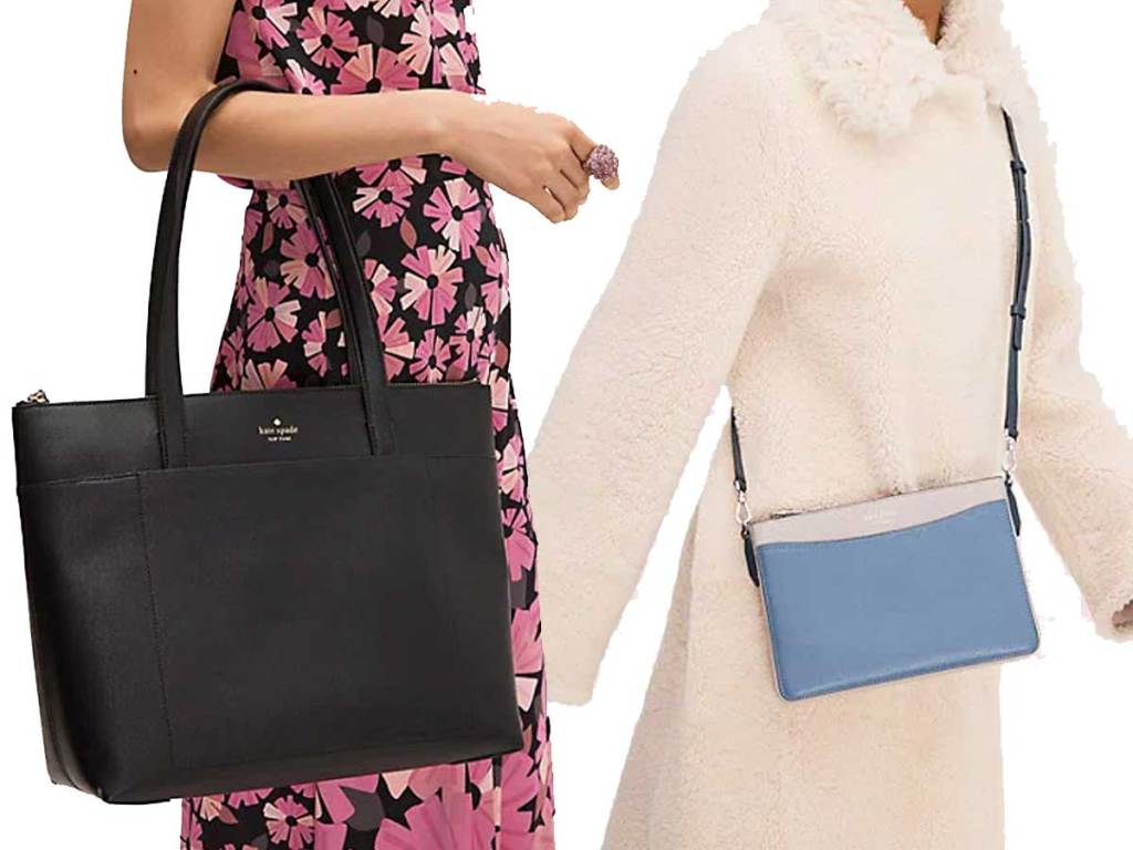 kate spade holiday lane bag and crossbody purse